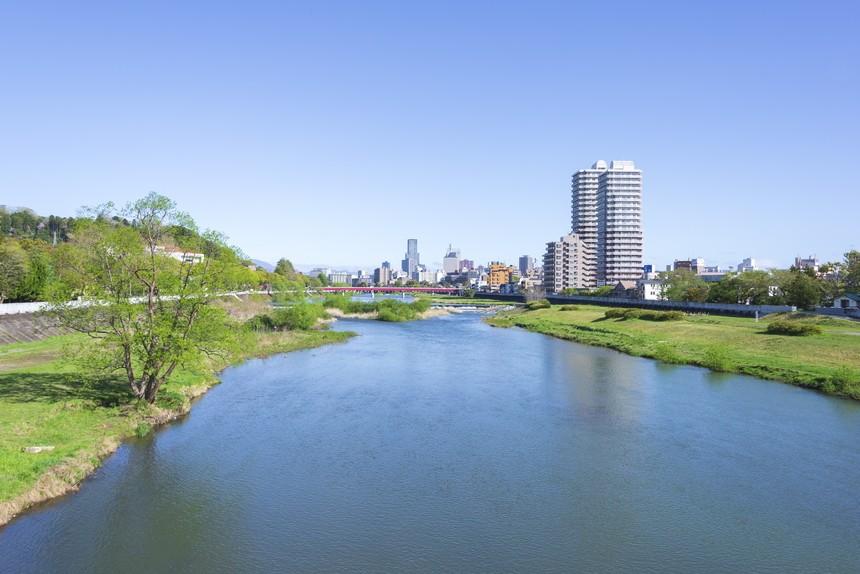 仙台のシンボル・広瀬川