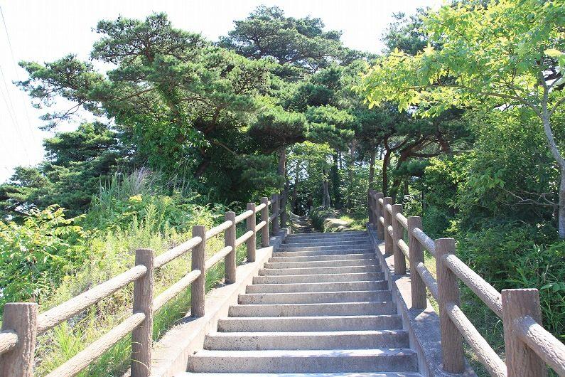 松島四大観 大高森 階段